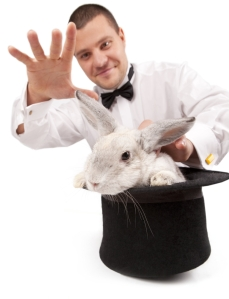 Social media isn't about pulling rabbits out of hats. It's about planning ...